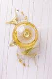 Ny örtte med linden Royaltyfria Bilder