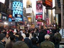 NY 08 1 van het Times Square Royalty-vrije Stock Fotografie