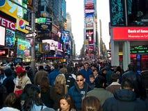 NY 08 3 van het Times Square Stock Fotografie