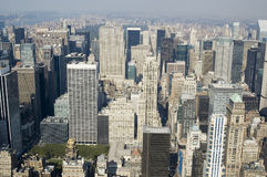 NY. New York City, view from the Empire State Building Royalty Free Stock Image