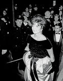 Джекии Кеннеди в центре NY Линкольна Стоковые Фотографии RF