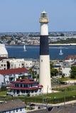 ny abseconAtlantic City jersey fyr Arkivbilder