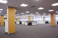 ny affärscentrum Arkivfoton
