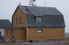 Ny alesund House in Spitzbergen Norway Stock Image