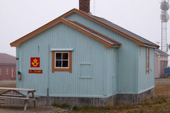 Ny alesund post office in Spitzbergen Norway Stock Image
