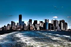 NY Ansicht Stockbild