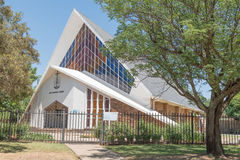 Ny apostolisk kyrka i Universitas i Bloemfontein Royaltyfri Fotografi