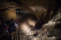 Ny Athos grotta, Abchazien Royaltyfri Foto
