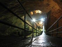 Ny Athos grotta Abchazien Arkivfoto