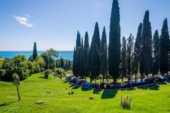 Ny Athos kustlinje, Abchazien Arkivbild
