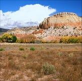 Ny Autumn Vista On The Ghost ranch - - Mexiko Arkivbild