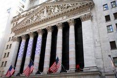 NY Börse Stockbilder