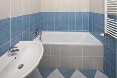 ny badrum Arkivbild