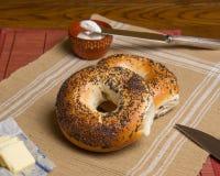 NY Bagels Royalty Free Stock Photo