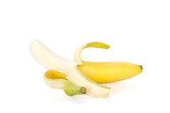 ny banan Arkivbild