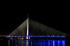 Ny Belgrade bro Arkivbilder