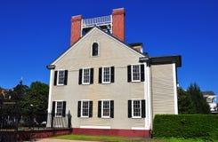 Ny Bern, NC: Dixon hus 1835 Royaltyfri Bild