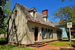 Ny Bern, NC: Major John Danes House 1705 Arkivfoto