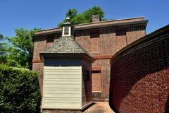 Ny Bern, NC: Tryon slott 1770 Arkivfoto