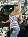 Ny bil Royaltyfria Bilder