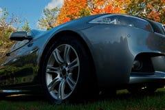 Ny bil BMW 525 Arkivfoton