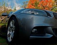 Ny bil BMW 525 Royaltyfri Bild