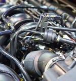 ny bilmotor Arkivfoto