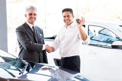 Ny biltangent för man Arkivfoton