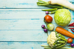 Ny bondemarknadsfrukt och grönsak arkivfoton