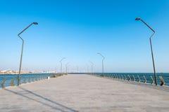 Ny boulevard i Baku Ag Sheher Royaltyfria Foton