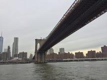 NY Brücke Lizenzfreies Stockbild