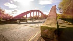 Ny Brislington bro en Bristol England Arkivfoto