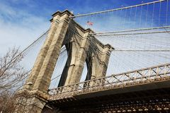 NY - Brooklyn bridge Stock Image