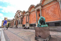 The Ny Carlsberg Glyptotek is an art museum in Copenhagen, Denmark Stock Photography