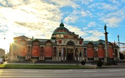 Ny carlsberg museum Arkivfoto