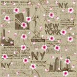 NY Cherry Blossom Royalty Free Stock Photos