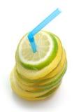 ny citronlimefrukt Arkivbilder