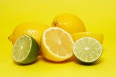 ny citronlimefrukt Arkivfoto
