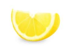 ny citronskivayellow Royaltyfri Foto