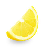 ny citronskivayellow Fotografering för Bildbyråer