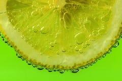 ny citronskivayellow royaltyfri fotografi