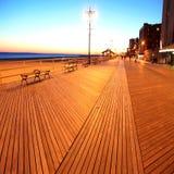 NY clásico, playa de Brighton Imagenes de archivo
