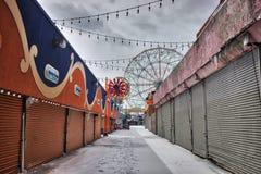 NY - Coney Island imagem de stock