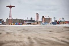 NY - Coney Island fotografering för bildbyråer