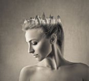 NY crown Royalty Free Stock Images