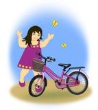 Ny cykel Arkivfoto