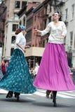 ny dans 2010 ståtar york Royaltyfri Fotografi