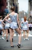 ny dans 2010 ståtar york Arkivbild