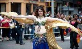 ny dans 2010 ståtar york Arkivfoton