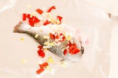 Ny dekorerad havsbraxen för dorada fisk Arkivbild